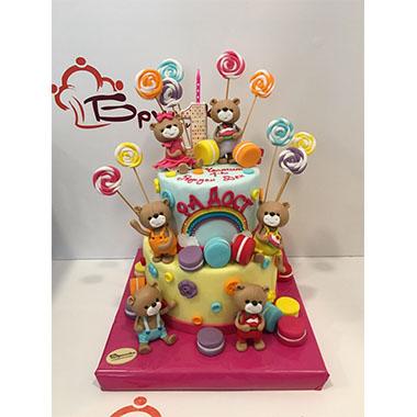 Торта Мечета и бонбони