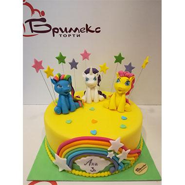 Торта Малкото пони 4