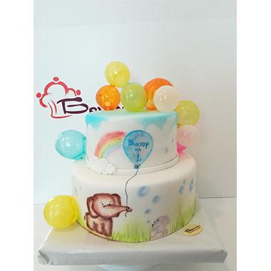 Торта Слонче с балонче
