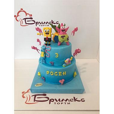 Торта Спондж Боб 2