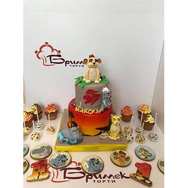 Торта Цар Лъв