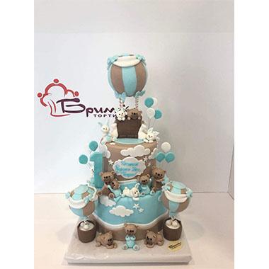 Торта Мечета и балони 3