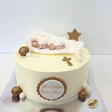 Торта за кръщене Бебенца