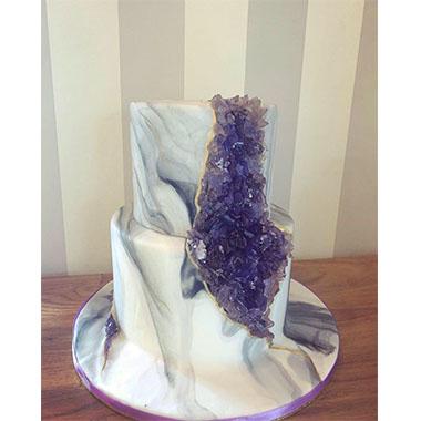 Сватбена торта Аметист