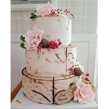 Сватбена торта Горски мечти