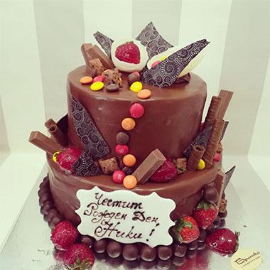 Торта Шоко Ягоди
