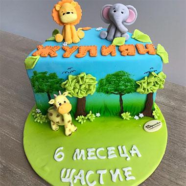 Торта Африка
