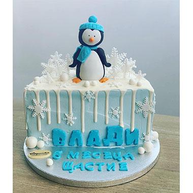 Торта Пингвин