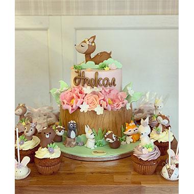 Торта Бамби и приятели