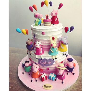 Торта Прасето Пепа