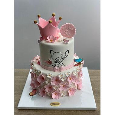 Торта Бамби Принцеса