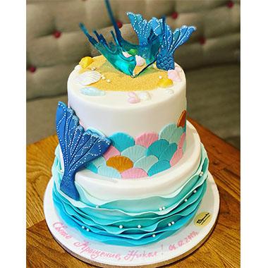 Торта Морски свят