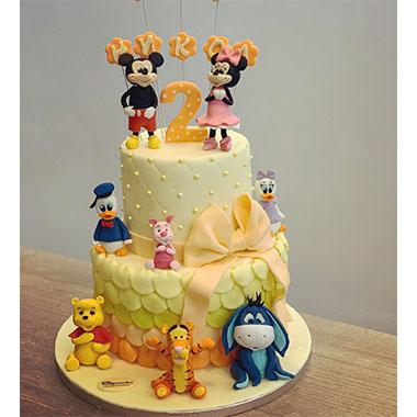 Торта Мини и Мики Маус