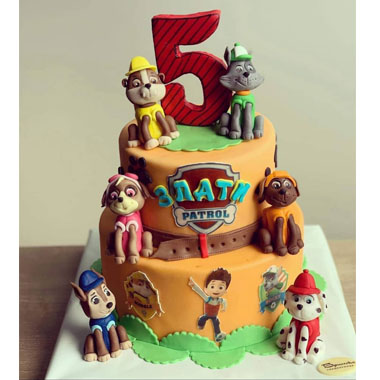 Торта Пес Патрул 2
