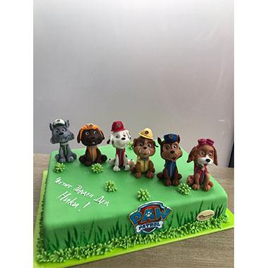 Торта Пес Патрул 3
