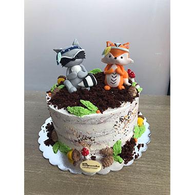 Торта Двете Лисичета