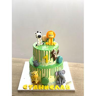 Торта Лъвче и Приятели