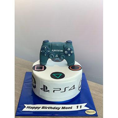Торта PlayStation 4