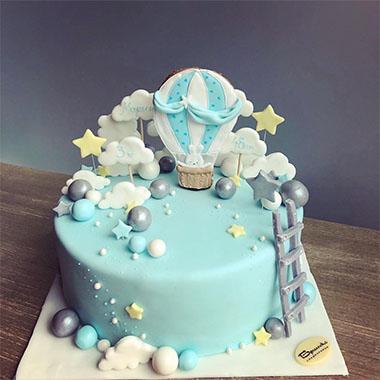 Торта Зайче и балон