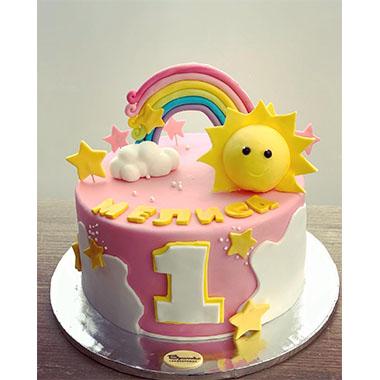 Торта Слънце и Дъга
