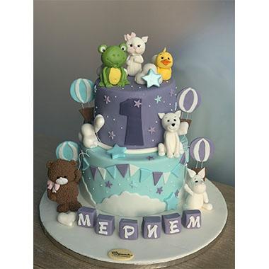 Торта Жабка и Приятели