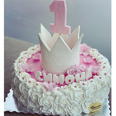 Торта Принцеса в Розово