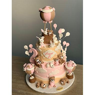 Торта Мечета и Зайчета