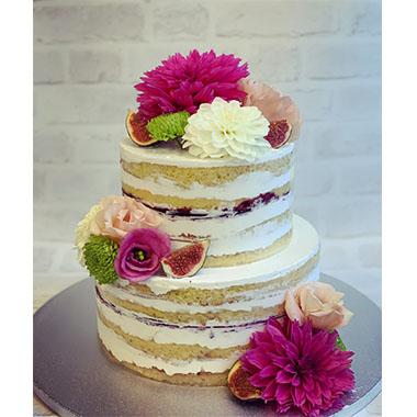 Торта Цветна