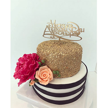 Торта Божур и Роза