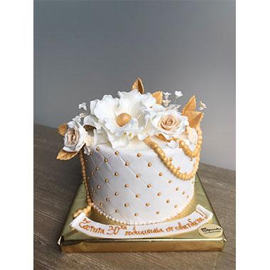 Торта Златни Перли