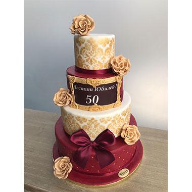 Торта Злато и Кадифе