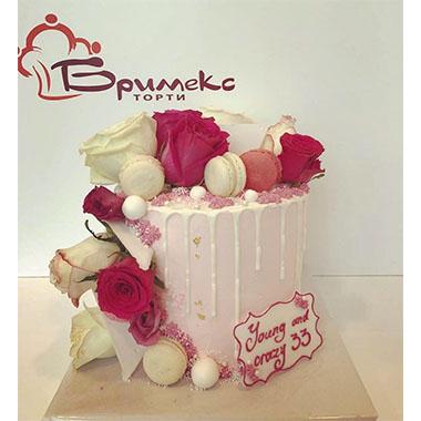 Торта Рози и Макарони