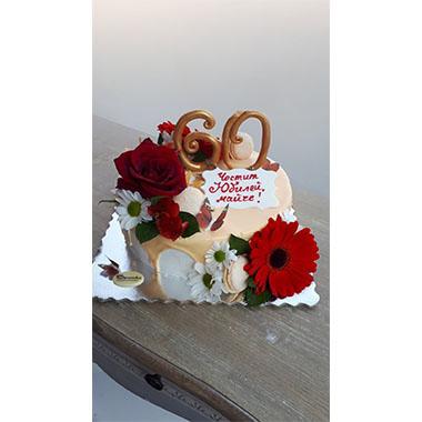 Торта Червен Гербер