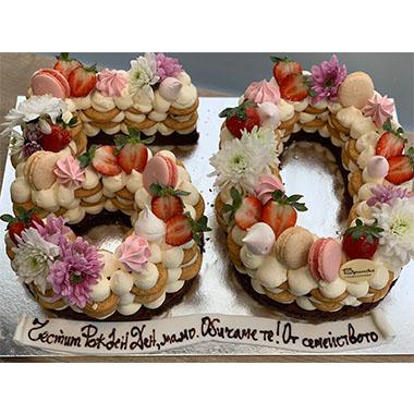 Торта Ягода и Крем 2