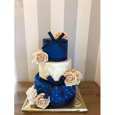 Торта Синьо Кадифе 2