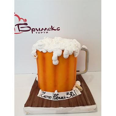 Торта Халба с Бира