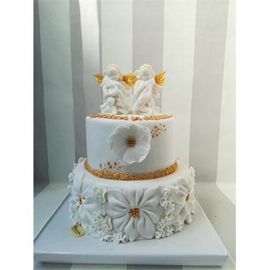 Торта Ангелчета в златно
