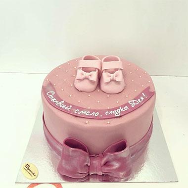 Торта Розова перла