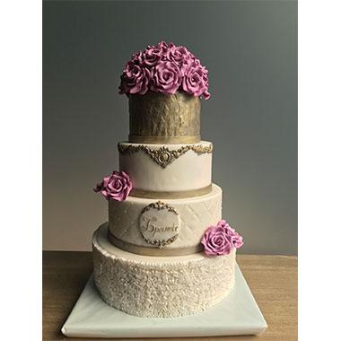Торта Рози и Злато