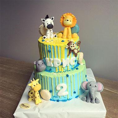 Торта Зоо 2