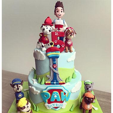 Торта Пес Патрул 5