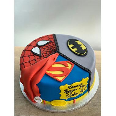 Торта Супер Герои