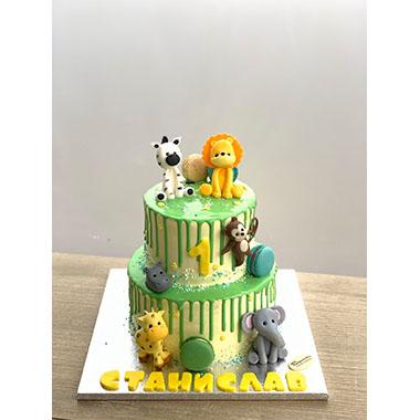 Торта Зоо 4