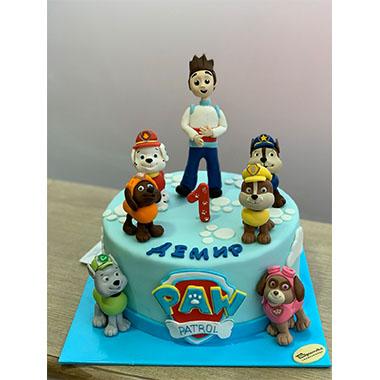 Торта Пес Патрул 6