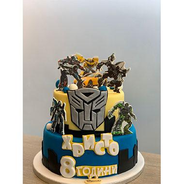 Торта Трансформърс 3