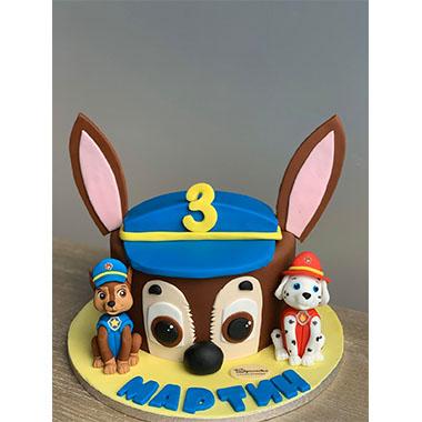 Торта Пес Патрул 7