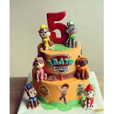 Торта Пес Патрул 8
