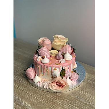 Торта Рози и Ягоди