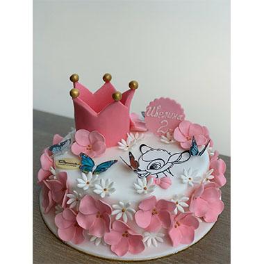Торта Розово Бамби