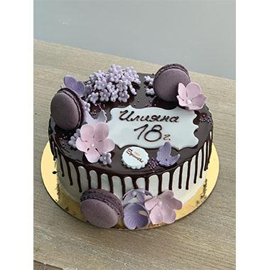 Торта Лилави Макарони